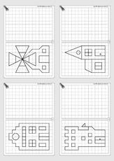 gitterbilder in der grundschule geometrie mathe klasse