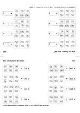 Rechnen mit Größen (Arbeitsblatt) in der Grundschule - Mathe ...