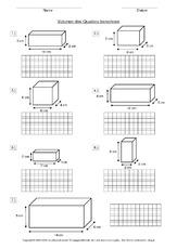 volumen rechnen mit gr en mathe klasse 3. Black Bedroom Furniture Sets. Home Design Ideas