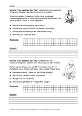 arbeitsblatt in der grundschule mathe klasse 3