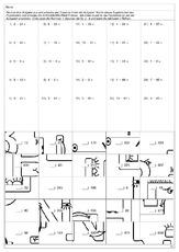 puzzle division 1 puzzle division mathe klasse 4. Black Bedroom Furniture Sets. Home Design Ideas