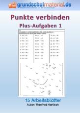 Arbeitsblatt in der Grundschule - Punkte verbinden - spielerisch ...