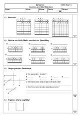 Rechter Winkel (Arbeitsblatt) in der Grundschule - Geometrie - Mathe ...