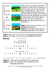 Textaufgaben in der Grundschule - Mathe Klasse 4 - Grundschulmaterial.de